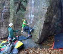 Rock Climbing Photo: Mantle