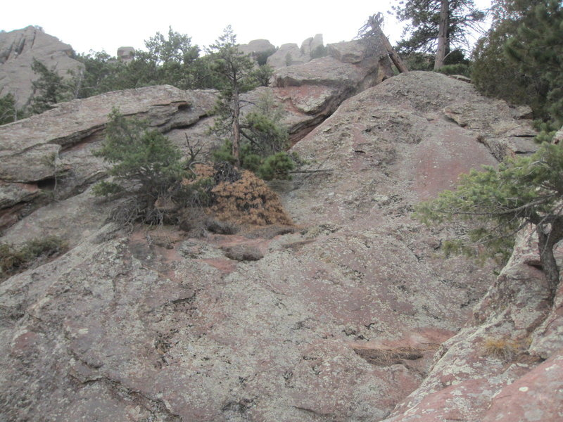 Rock Climbing Photo: Southern Lost Sentinel, east face.