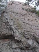 Rock Climbing Photo: Downclimb, east face.