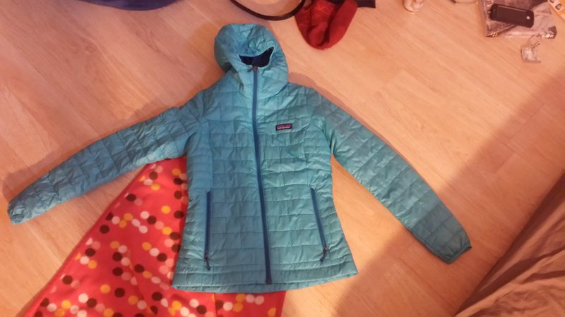 Rock Climbing Photo: Nano Puff Hoody. Never Used-just found a different...