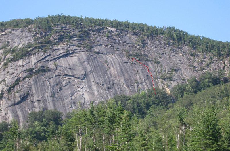 Rock Climbing Photo: Revelations 5.10a