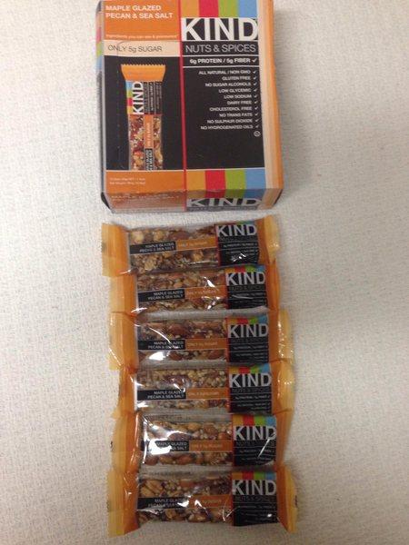 Kind Bars 6 per purchased item!!