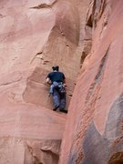 Rock Climbing Photo: Really fun laybacking, stemming and some chimney s...