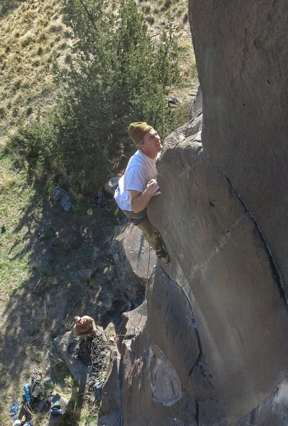 Rock Climbing Photo: Tom Burton,The Improv, 11b (Nov 2015).