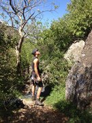Rock Climbing Photo: Belaying in San Sebastian Tutla