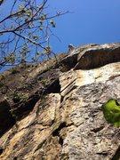 Rock Climbing Photo: Antonio sending Smeagol, 5.10a