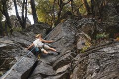 Rock Climbing Photo: Playing with the kids at Cantara Loop on the Sacra...