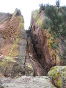 Rock Climbing Photo: I believe this is the dihedral, middle section of ...