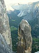 Rock Climbing Photo: Tyrolean.  Dean Olin Photo.