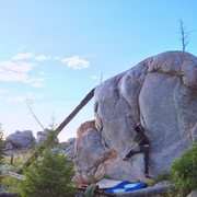 Rock Climbing Photo: Starting moves of Scoliosis