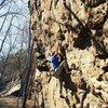 Rope-less on Horseshoe Canyon Ranch 5.11