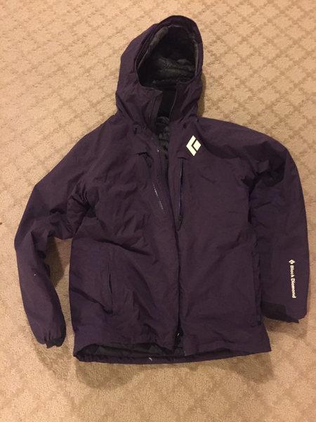 Black Diamond down jacket