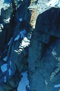 Rock Climbing Photo: Looking down at towers that had to be surmounted a...