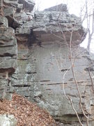 Rock Climbing Photo: Hopefully a slightly better shot, the draws show w...
