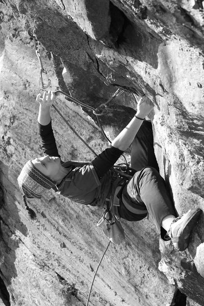 Rock Climbing Photo: Clipping!