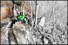 Rock Climbing Photo: Mike Thompson