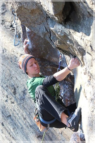Rock Climbing Photo: Setting up