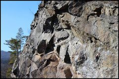 Rock Climbing Photo: Unknown climber on a warm December day