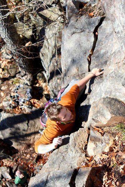 Rock Climbing Photo: climbing the rocks