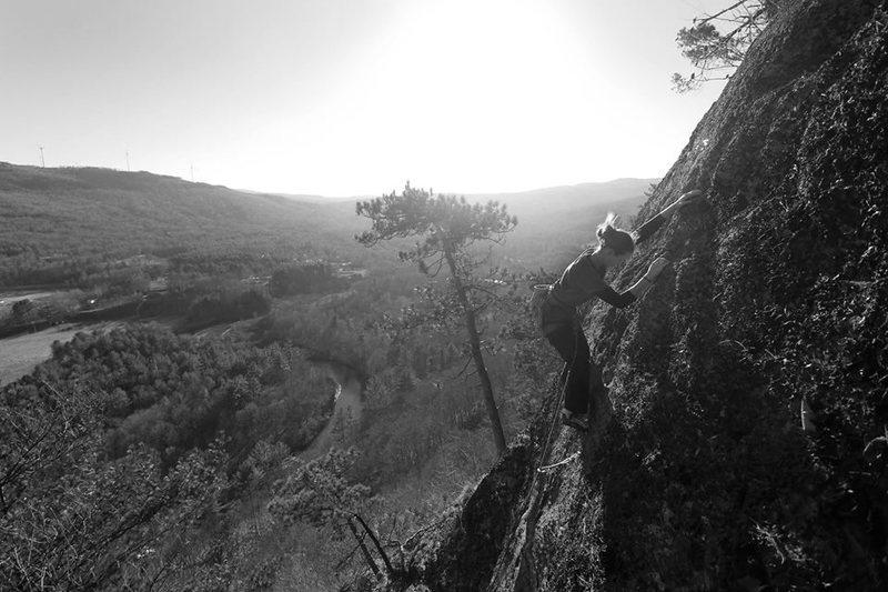 Rock Climbing Photo: December should always be so nice :)