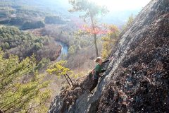 Rock Climbing Photo: Another one that shows the amazing position of thi...