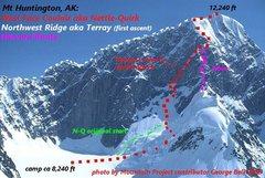 Rock Climbing Photo: Mt Huntington's popular epics!  photo by Mountain ...