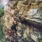Rock Climbing Photo: bouldering