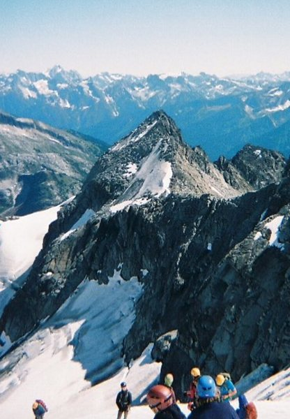 Rock Climbing Photo: Mt Tucker on a beautiful sunny day (taken from Mt ...