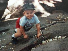 Rock Climbing Photo: Me.