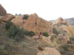 Rock Climbing Photo: Toproping on the Waco Wall.