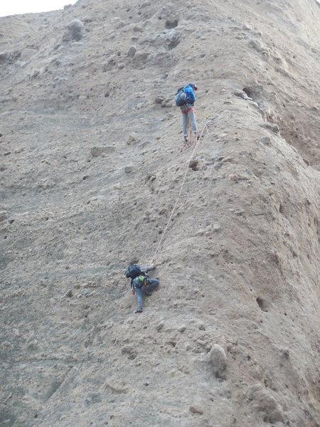 Climbers on Tethys.