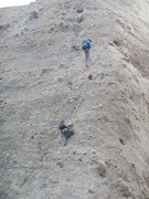 Rock Climbing Photo: Climbers on Tethys.