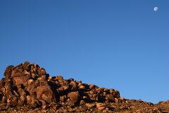 Rock Climbing Photo: First light on Tatooine! First climb since surgery...