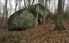 Rock Climbing Photo: Size comparison of Boulder 3 and 3A
