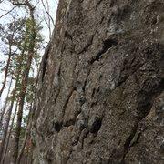 Rock Climbing Photo: Rock quality on Super B