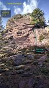 Rock Climbing Photo: Fourth Pinnacle.
