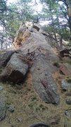 Rock Climbing Photo: Gregory Flatironette aka Fifth Pinnacle South Ridg...