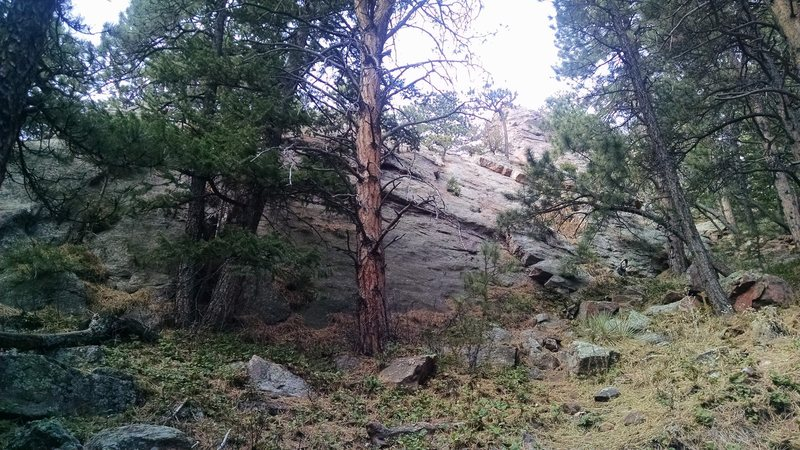 Rock Climbing Photo: Gregory Flatironette aka Fifth Pinnacle  South Rid...