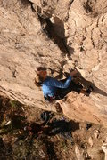 Rock Climbing Photo: Winter climbing. This photo was taken a few years ...
