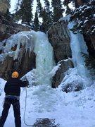 Rock Climbing Photo: Moffat Tunnel - Right Side Ice, 12/13/2015.