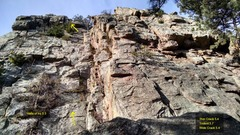 Rock Climbing Photo: Halls of Ivy, 5.3.