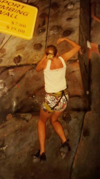 Me 11yrs old first climb
