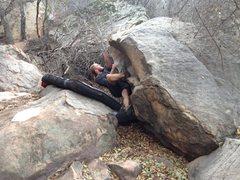 Rock Climbing Photo: Cruisin the phage