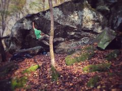 "Rock Climbing Photo: ""Falling on a Dirty Mattress"""