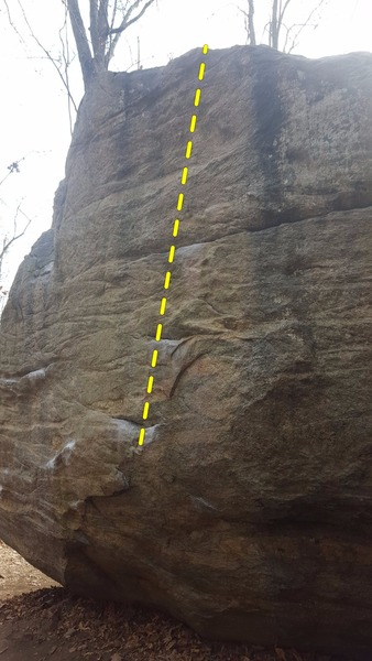 A view of Unknown V1, possible called the ladder