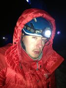 Rock Climbing Photo: On the Cleaver, Mt. Rainier. No sleep works wonder...