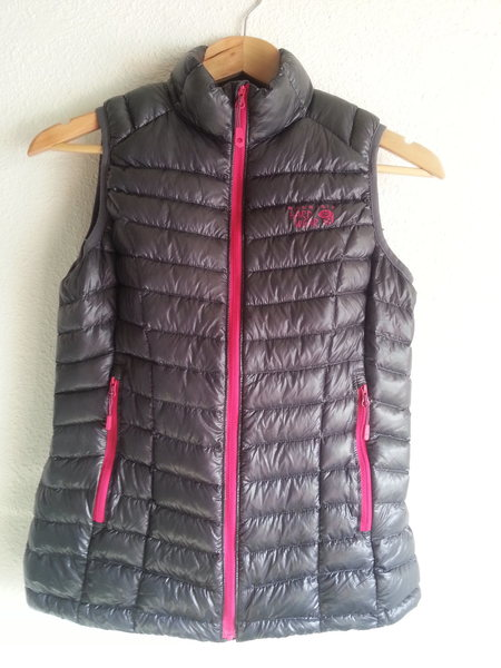 Mountain Hardware Women's Ghost Whisperer Q-Sheild Down Vest, XS
