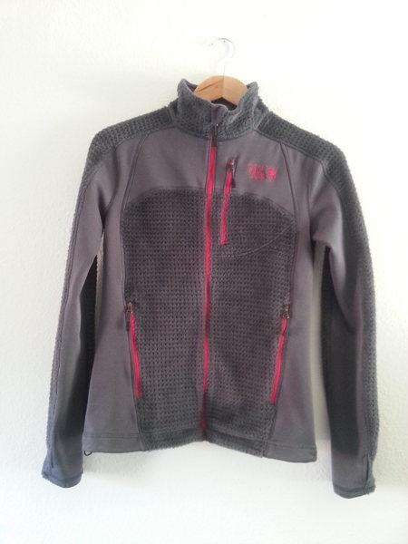 Mountain Hardware Monkey Grid II Fleece Hoodless Jacket, XS:  $85.00