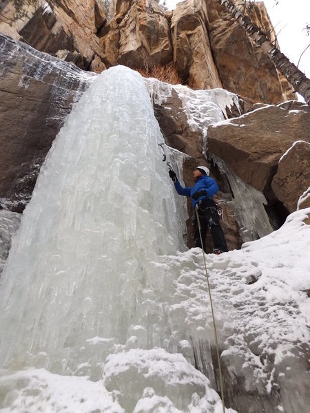 Rock Climbing Photo: Hidden Falls - Right.