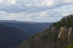 Rock Climbing Photo: Shot of the bridge from Idol Point at Endless